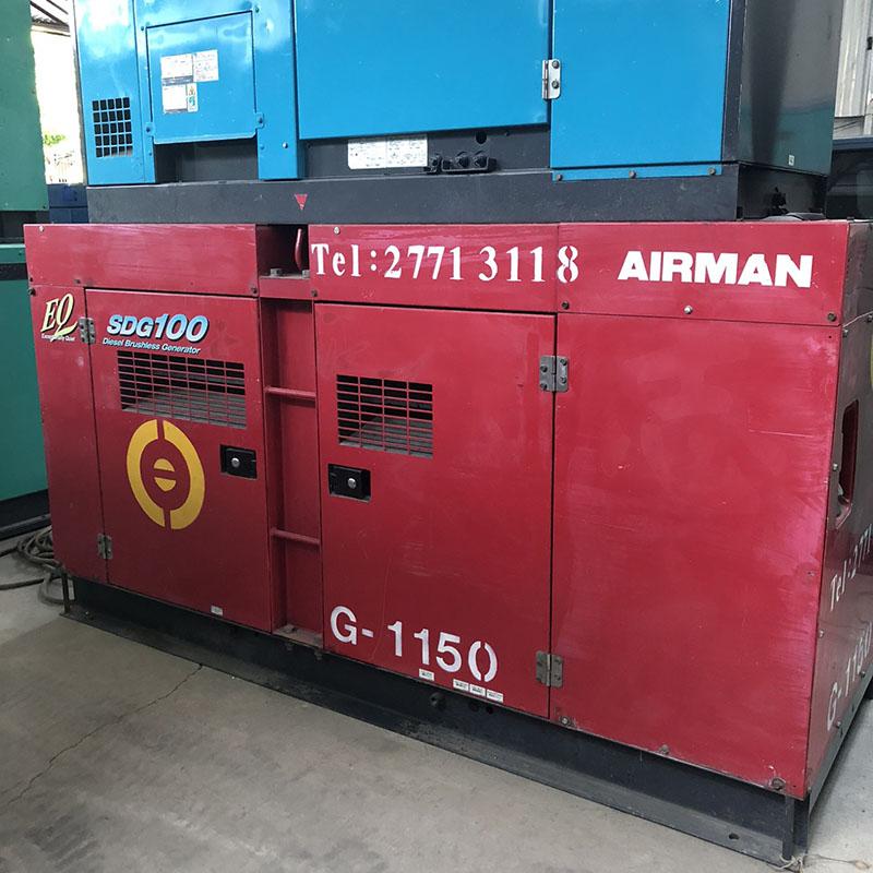 Máy phát điện AIRMAN 100 kva