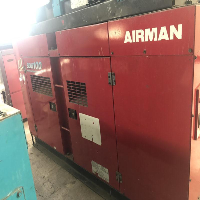 Máy phát điện 100kva Airman sx 2011