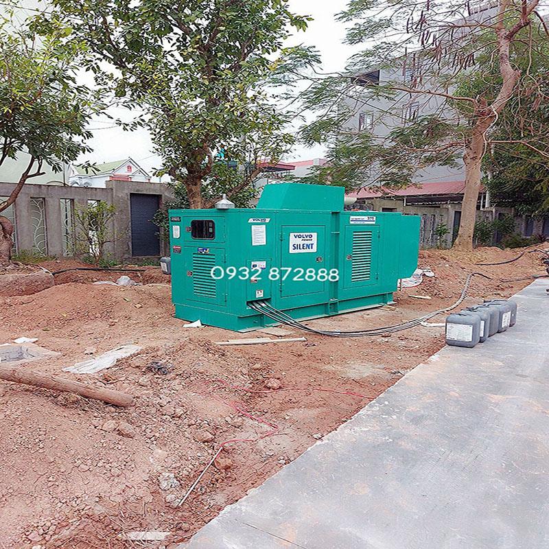 Bàn giao máy phát điện tại Bắc Giang