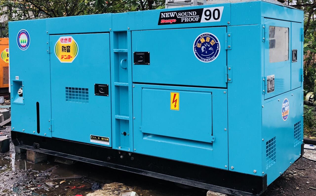 Cho thuê máy phát điện giá rẻ tại khu vực Hà Nội