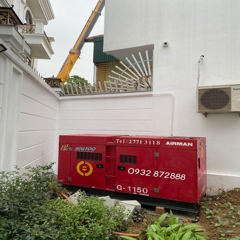 Bàn giao máy phát điện 100 kva Tại Thái Nguyên